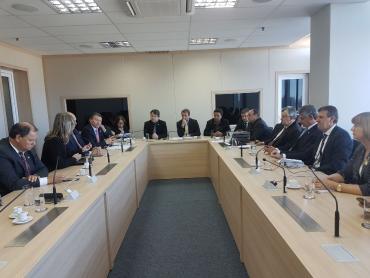 Em Brasília, Sossella integra comitiva pela ampliação de recursos para a BR-116