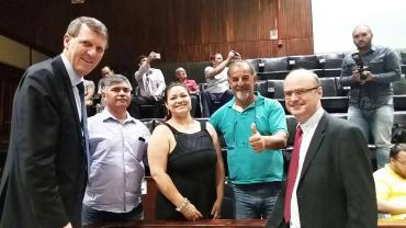 Burmann destaca aprovação de área para regularização fundiária em Eldorado do Sul