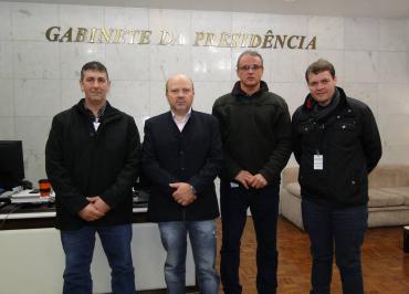 Presidente recebe representantes do Mercado Público de Porto Alegre