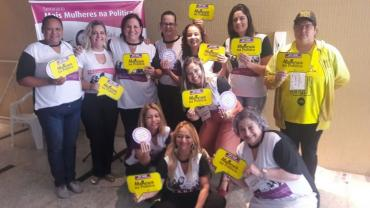 Em Brasília, Miguelina Vecchio incentiva a participação das mulheres na política