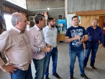 Sossella recebe demandas durante roteiro em Erechim
