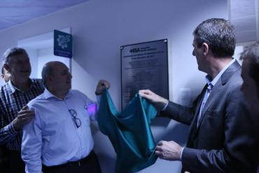 Em Tapejara, Sossella participa de abraço ao hospital e inauguração do tomógrafo
