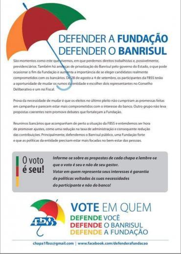 PDT tem representante na eleição para a Fundação Banrisul