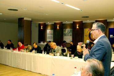 Jairo Jorge apresenta suas propostas para empresários da construção civil