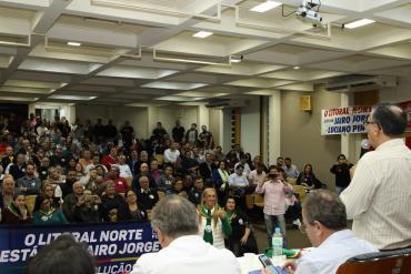 Jairo Jorge completa 1000 reuniões pelo Estado