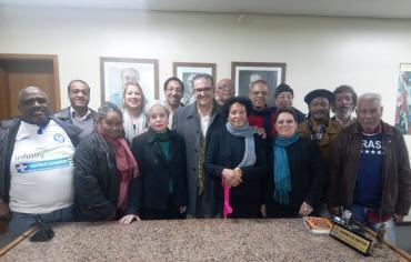 Jairo Jorge se reúne com o Movimento Negro